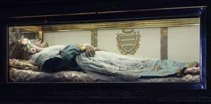 Image of St Zita in Casket