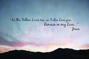 """Quote: """"As the Father..."""""""