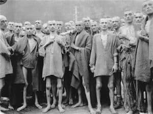 Prisoners of Nazi Concentration Camp