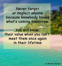 "Quote - Neglect: ""Never forget..."""
