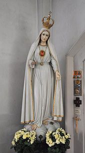 Statue of Our Lady of Fatima.