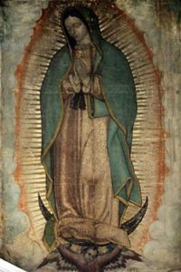 Image of Our Lady of Guadalupe.