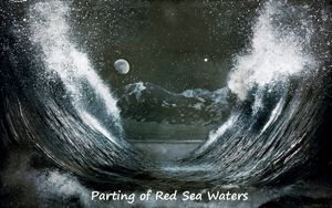 God's Parting of the Red Sea