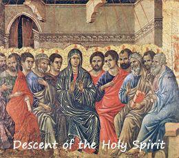 Pentecost by Duccio di Buoninsegna