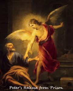 An Angel appears to St Peter in Prison