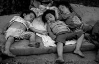 Children sleeping rough