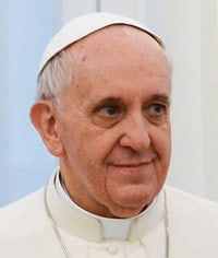 Portrait of Pope Francis