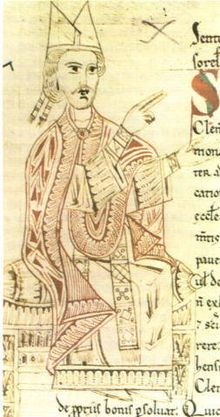 Sketch of Pope St Gregory