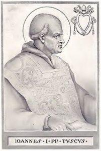 Image of Pope St John I