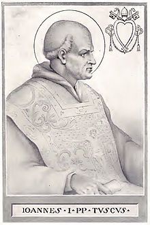 Image of Pope St John I