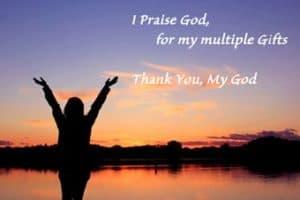 """Quotation: """"I praise God..."""""""