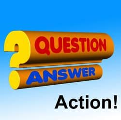 Sign: Question, Answer, Action