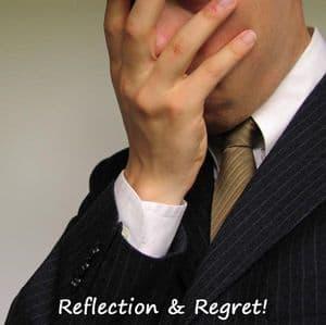 Regretful Man