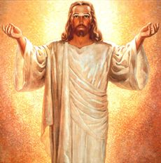Image of the Risen Jesus