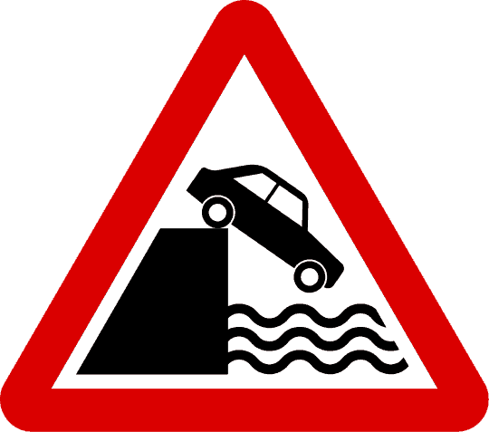 Road Sign: Danger Ahead