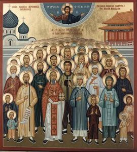 Saints of China
