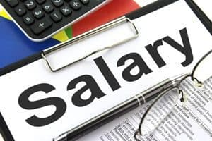 Sign: Salary