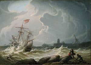 Painting: Sea Storm
