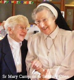 Srs Mary Campion & Mary Coen