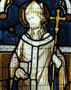 Stain Glass Window image of St Adrian