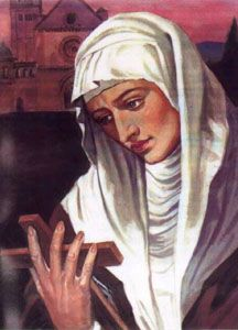 Image of St Agnes of Assisi