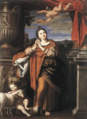 Image of St Agnes of Rome