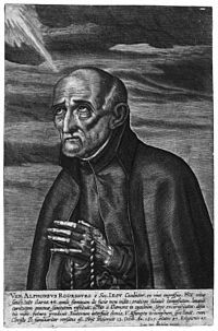 Sketch of St Alphonsus Rodriguez