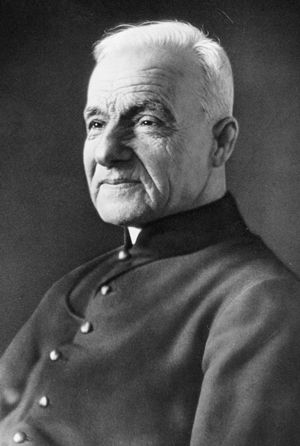 Photograph of a smiling St Andre Bessette