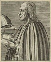Sketch of St Anselm of Canterbury