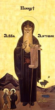 Image of St Anthony of Egypt