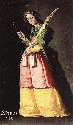 Image of St Apollonia of Alexandria
