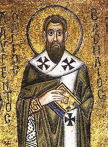 Icon of St Basil of Caesarea