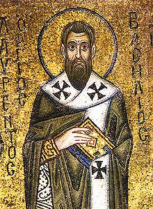 Icon of St Basil of Caesarea