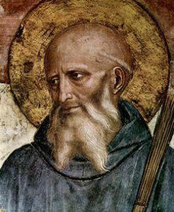 Icon of St Benedict