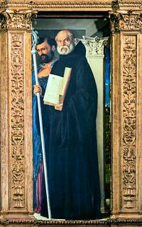 Image of St Benedict of Nursia