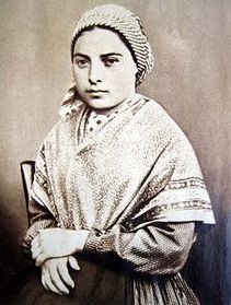 Photograph of St Bernadette