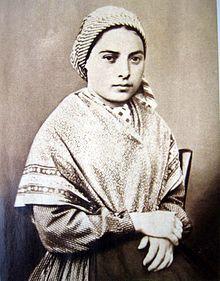 Image of St Bernadette