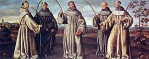 Image of St Bernard and Companions