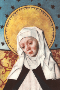 Icon of St Bridget of Sweden