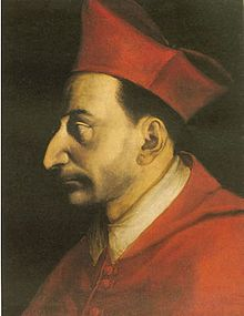 Portrait of St Charles Borromeo