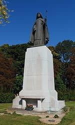 St Colette Statue