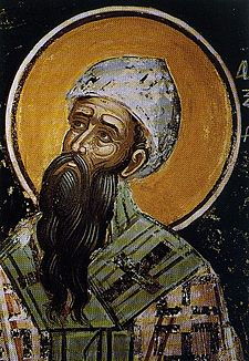 Portrait of St Cyril of Alexandria