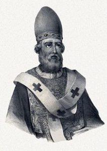 Sketch of Pope St Damasus I