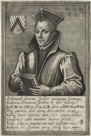 Sketch of St Edmund Gennings