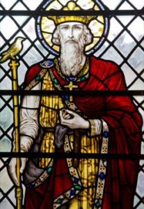 Stain Glass Window Image of St Edward the Confessor