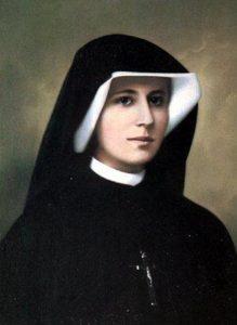 Image of Sr Faustina as a Nun