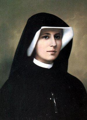 Image of Sr Faustina as a Nun