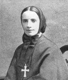 Portrait of St Frances Xavier Cabrini