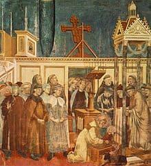 St Francis at Greccio