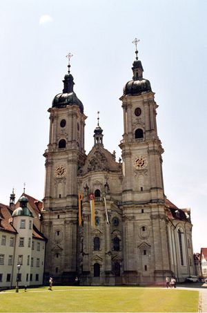 Photograph of Gall Cathedral